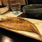 日本酒バー オール・ザット・ジャズ - 秋刀魚の干物