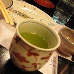 日本酒バー オール・ザット・ジャズ - 会計時に頂いたお茶