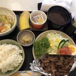 ポケット - 料理写真:日替わり定食  焼肉