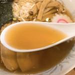 昭和ぐるめ横丁 - 中華そばのスープ