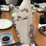 ホテル滝川 - 甘いタコしゃぶ