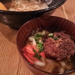 沖縄料理とパクチー うるま食堂 - ソーキそば