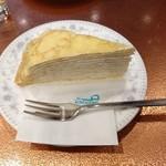 アルプス洋菓子店 - めいとうのミルクレープ