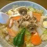 ビーフン東 - 五目ビーフン(スープ)