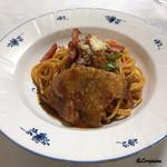 レストラン熊さん - 料理写真:ポークピカタ ナポリタン