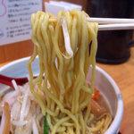 98608674 - 味噌ラーメン(800円)+チンピラ玉子(150円)+ご飯(100円)