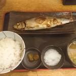 魚人食堂 - にしん定食@740