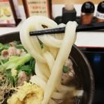 讃岐製麺 - 太目のしっかりしたコシのある味わい深い食感