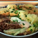 海洋食堂 - 牛肉炒め