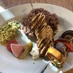 レストラン エイタブリッシュ - スブラキ(ランチコース)