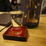 98612321 - 日本酒(黒龍いっちょらい)♪