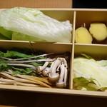 しゃぶしゃぶ温野菜 - お薦め野菜盛