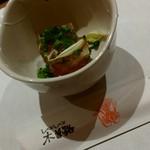 木曽路 - 福コース・ふぐの煮凍り