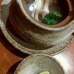 木曽路 - 鮑土瓶蒸し¥1296-