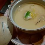 木曽路 - 福コース・ふぐの茶碗蒸し
