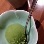 木曽路 - 福コース・抹茶アイス