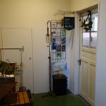 Un Peu - 3F カフェの入り口