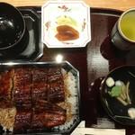 Hitsumabushinagoyabinchou - うな重(3,888円)+肝吸変更(162円) =4,050円(税込)
