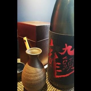 【期間限定】『九頭龍大吟醸』専用の酒燗具で燗を愉しむ