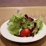 ニクバルダカラ - サラダ(ご飯セット)