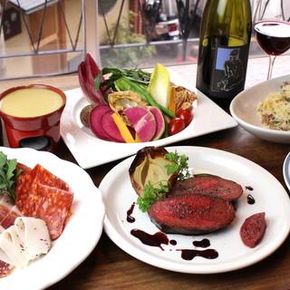 旬の食材を使用。ワインと良く合う本格的なイタリア料理に舌鼓…