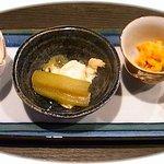旬菜食彩かべや - 料理写真:前菜。