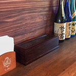 博多 柚づ庵 - 卓上に調味料は置かれていませんでした。