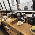 レストラン シズル - スープコーナー   本日のスープ & 鉄砲汁 & スープカレー