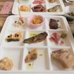 レストラン シズル - 種類豊富