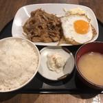 ちゃい九炉 - 生姜焼き定食