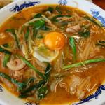 98641971 - 韮辛麺800円。