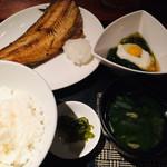 魚居酒屋 青柚子 - 週替わりランチ 2018.12