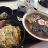 はやちね食堂 - 料理写真:ラーメン&ミニカツ丼セット