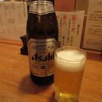 味暦あんべ - 瓶ビール 600円(税込) (2018.12)