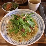 komibou - 料理写真:ベーコンナッツ柚子胡椒パスタ