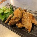 浜料理がんがん - さば竜田450円(税別)