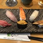回転寿司しげなが - 料理写真:きわみセット1,500円