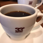 33+コーヒー - 香りがよい。