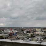 イシヤカフェ - 窓からの景色です。