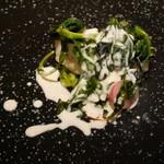リベルタス - お魚 真鱈のロースト、白ワインと白子のソース、柚子の香り