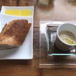 code kurkku - パンとジャガイモのスープ