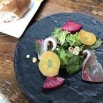 コードクルック - 鮮魚のカルパッチョ