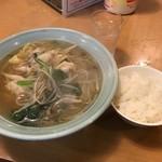 98659337 - ワンタン麺定食
