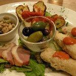 スペイン魚介バル - 「日替わり前菜5種盛」