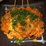 近江野菜鉄板串焼き わえん - 豚キムチ3本