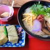 うぐいす - 料理写真:おすすめの煮麺セット!三輪素麺は奈良の特産品です (๑>◡<๑)