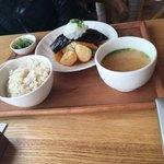 あったかキッチン まあるいおさら - 和風おろし豆腐ハンバーグ1500円