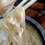 98666771 - 【2018.12.18(火)】みそラーメンの麺
