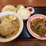 台湾料理 福祥閣 - ニラレバ定食
