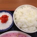 台湾料理 福祥閣 - ご飯